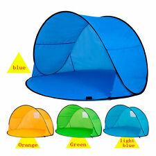 Pop Up Beach Tent Automatic Quick Opening Sunshade Tent Anti-UV Sun Protection
