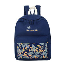 Big Capacity Cute Canvas Student School Shoulder Laptop Bag Backpack for Travel