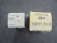 VIMAR IDEA 16511.10.B   SWITCH  with TEST CIRCUIT 120 / 230 V    CARVER