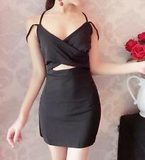 Sexy Women's Slim off Shoulder Casual Cocktail Party Evening Short Mini Dress