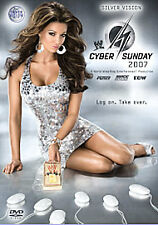 WWE - Cyber Sunday 2007 (DVD, 2008) Mint Condition!