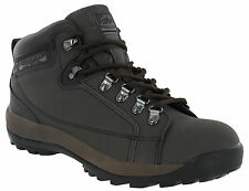 Groundwork Brown Safety Boots Steel Toe Cap Mens Work Industrial Lace Up Ankle