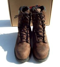 Red Wing Steel Toe 8 inch Leather Work Boots Model 2211 Made in USA Steel Toe