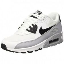 Nike Air Max 90 Essential Womens Size Running Shoes White Black Grey 616730 111