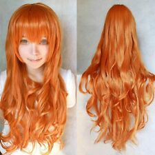 Ladies Women Fashionable 80cm Long Curly Hair for Cosplay Costume Party Wigs New