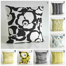 CUSHION COVER, Scandinavian style, Made in UK, Gold and Charcoal collection