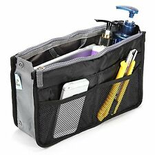 SAVFY Ladies Tidy Travel Insert Handbag Cosmetic Organiser Purse Large Liner...