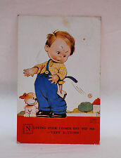 MABEL LUCIE ATTWELL  cept buttons      attwell POSTCARD vintage old