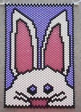 Handmade Easter Bunny Rabbit  Beaded Banners Different Designs