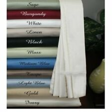 1000TC/1200TC EGYPTIAN COTTON  SOLID COLORS 6 PC BEDDING SHEET- SET ALL SIZES