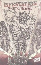 INFESTATION SKETCHBOOK RI VARIANT  IDW