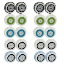 4-Pack Facial Cleansing Brush Heads for Clarisonic Mia 2 Pro Plus Replacement