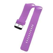 Sports Silicone Rubber Wrist Strap Band w/ Metal Buckle For Polar A360 Watch