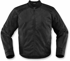 Icon Overlord 2 Mens Black Motorcycle Riding Jacket