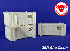 N Gauge - 20ft Portable Site Cabin - Model Railway Kit