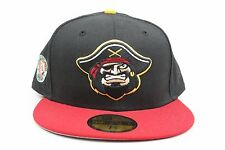 Bradenton Marauders Black Red Florida State SP MiLB New Era 59Fifty Fitted Hat