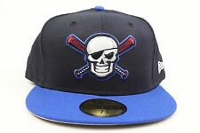 Bradenton Marauders Black Royal Blue White Red MiLB New Era 59Fifty Fitted Hat