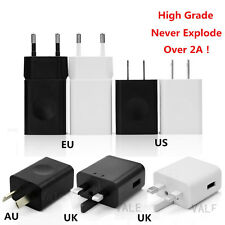 UK/US/AU/EU Type 2A USB Wall Charge Travel Protable Power Adapter Quick Charging
