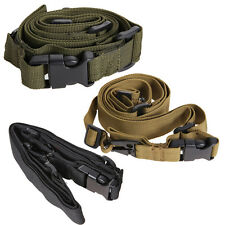 Durable Tactical Point Rifle Sling Adjust Swivel Airsoft Hunting Gun Strap Parts