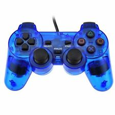 2Pcs Twin Shock Game Controller Joypad Pad for Sony PS2 Playstation 2 PSone PSX