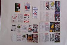 1987 1988 1989 1990 1991 1992 1993  Boston Red Sox Schedule Lot