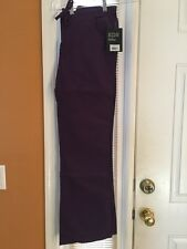 Dickies Mid-Rise Cargo Pant 854206 Eggplant SIZE LARGE FREE SHIPPING!