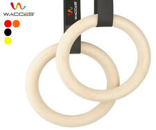 Portable Gymnastics Rings Olympic Shoulder Strength Training Gym Ring Crossfit