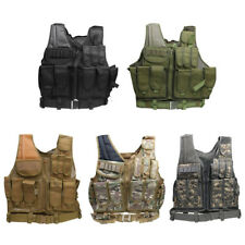 Military Tactical Utility Vest Police Wargame Wear MOLLE Camouflage Hunting Vest