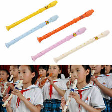 Plastic Musical Instrument Recorder Soprano Long Flute 8 Holes Hot