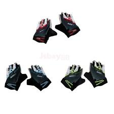Breathable Sports Bike Bicycle Cycling Gloves Half Finger Silicone Padded Palm