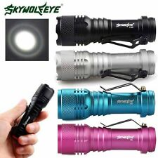 6000LM Q5 AA/14500 3 Modes ZOOMABLE LED Flashlight Torch Lamp Super Bright