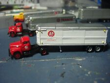 N SCALE- ATLANTIC & PACIFIC (A&P) - CMW - IH R-190 TRACTOR & 32' TRAILER