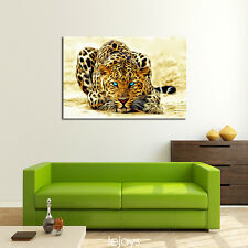 "HD Print on Canvas Painting Home Decoration Wall Art Animal Leopard ""24x36in"""