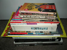 Collection 21 Beatles Lennon Books Magazines Monthly 1964 Poster Memorabilia Lot