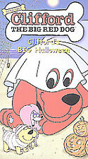 Clifford the Big Red Dog - Cliffords Big Halloween New VHS