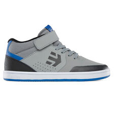 Etnies Kids Marana Mid Top Skate Shoe – Grey/Black/Blue