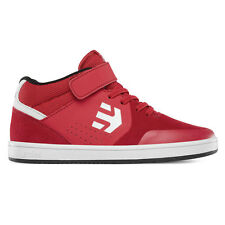 Etnies Kids Marana Mid Top Skate Shoe – Red/White/Black