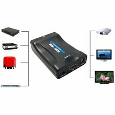 1080P SCART To HDMI Video Audio Converter Adapter for HD TV DVD for Sky Box LoBK