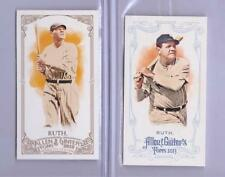 2013 Topps Allen and Ginters Mini Babe Ruth 2 CARD LOT!