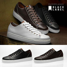 PaperPlanes Mens Casual Shoes Handmade Lace Up Leather Sneakers 2004 CA