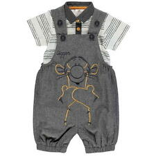 Disney Baby Boy Winnie The Pooh Tigger Dungarees Shorts Outfit Set