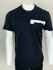 Armani Exchange Authentic Jumper Logo Relaxed Fit T Shirt Black NWT