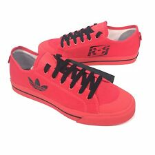 NWT $325 RAF SIMONS x Adidas Men's Matrix Spirit Low Top Red Sneakers AUTHENTIC
