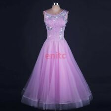 2017 Foxtrot Waltz Ballroom Modern Tango Flamenco Dance Bridesmaid Party Dress