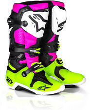 NEW Alpinestars LE SPECIAL EDITION RADIANT TECH 10 BOOTS [FAST SHIPPING]