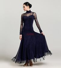 Ladies Foxtrot Waltz Ballroom Modern Tango Quickstep Dance Cocktail Dress Skirt