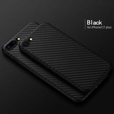 Allergy proof Carbon Fiber Pattern TPU Case Cover for Apple iPhone 7/7 Plus Thin