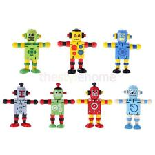 4.3'' Wooden Walnut Joint Robot Learning&Educational Kids Early Learning Toy