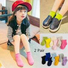 2 Pair Fashion Breathable New Comfortable Socks Gift Cotton Children's Baby Sock
