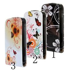 Luxury PU Leather Flip Case Slim Cover for Samsung Galaxy Trend GT-S7562 S Duos